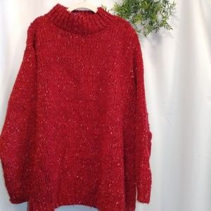 Nordstrom red sweater